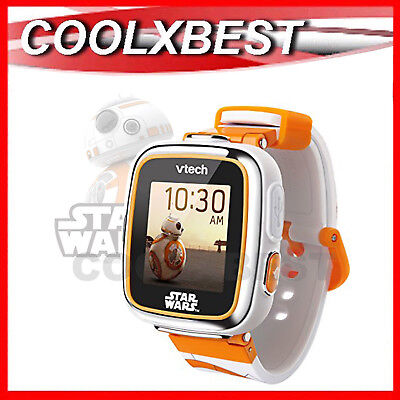 NEW VTECH STAR WARS BB-8 KID's SMART WATCH / CAMERA TOUCH SCREEN KiDiZOOM DX