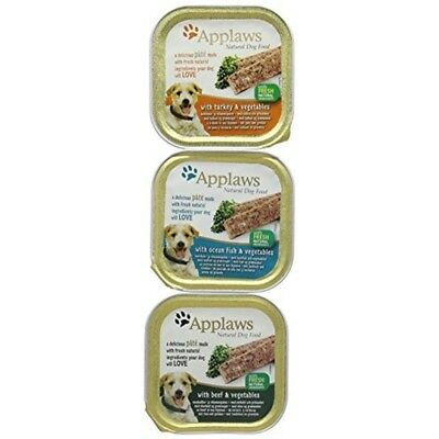Applaws Dog Pate Alu Tray Fresh Selection Multipack 5x150g (pack Of 4) - x 150g