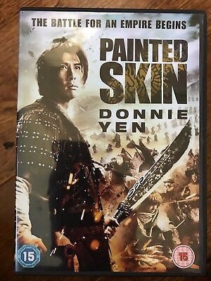 DONNIE YEN PAINTED Piel ~ 2008 HONG KONG ARTES MARCIALES Epic GB DVD