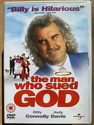 Billy Connolly Judy Davis MAN WHO SUED GOD ~ 2001 Australian Cult Comedy UK DVD