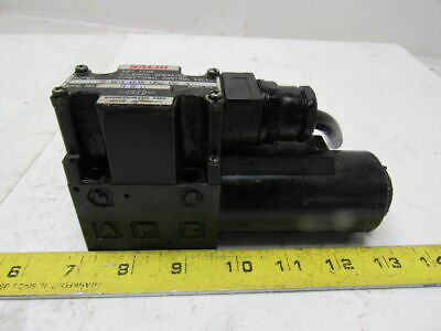 NACHI S-G01-B3X-GRZ-D2-32 Directional Solenoid Operated Hydraulic Control Valve