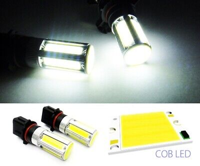 2x P13W Bulb High Power COB LED 25W Fog Daytime Light DRL Audi A4 B8 Peugeot 508