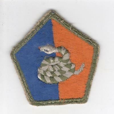 1946 US Army 51st Infantry Division Patch Inv# C481
