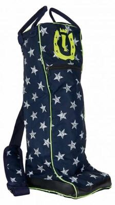 Imperial Riding Boots Bag - Navy Stars