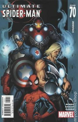 Ultimate Spider-Man #70 2005 VF Stock Image