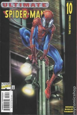 Ultimate Spider-Man #10 2001 VG Stock Image Low Grade