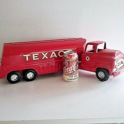~REAL Dutch Auction~ NEAR MINT Vintage Buddy L TEXACO TANKER TRUCK