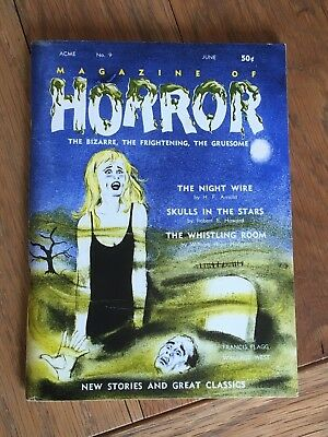 Skulls in the Stars - Robert E. Howard + others in Magazine of Horror June 1965