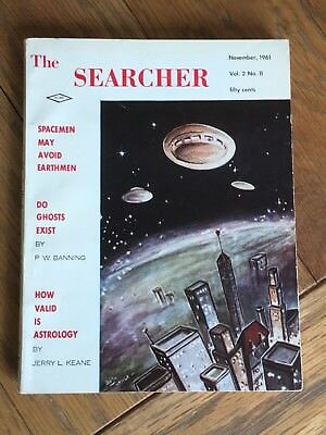 The Searcher Magazine - Nov.1961 - US Astrology, weird science, ghosts, UFOs etc