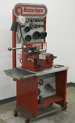AccuTurn 8922 Disc and Drum Brake Lathe w/ Stand, Tooling & Accessories #5