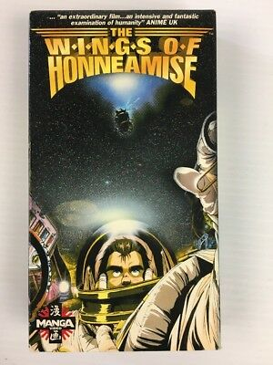 Royal Space Force - The Wings of Honneamise (VHS, 1995) Manga Video