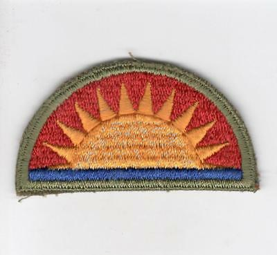 WW 2 US Army 41st Infantry Division Greenback Patch Inv# C536