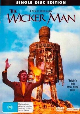 NEW The Wicker Man (1973) DVD Free Shipping