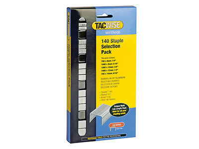 Tacwise - 140 Heavy-Duty Staples (Type T50, G) Selection Pack 4400