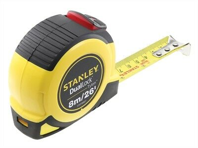 Stanley Tools - Dual Lock Tylon™ Pocket Tape 8m/26ft (Width 25mm)