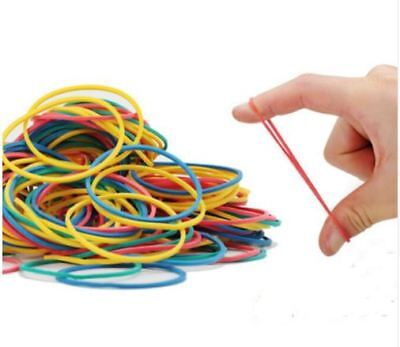 Rubber Bands Strong Elastic Office Stationery Home Post Home School Natural 100G