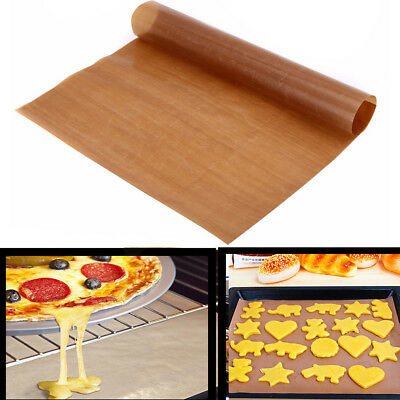 Reusable Non Stick Liner Oven Microwave Grill Bread Baking Mat Sheet Pad Hot