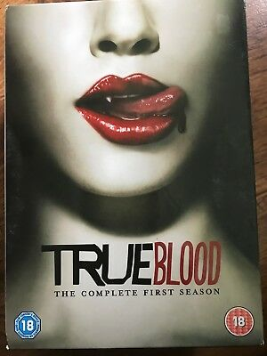 ANNA PAQUIN True Blood ~ STAGIONE 1 HBO VAMPIRO HORROR SERIE UK DVD / Copertina