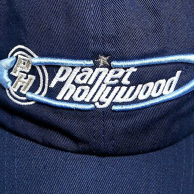 Planet Hollywood Paris Hat Faded Look Embroidered Adjustable Never Worn Display