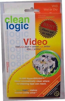 Clean Logic TM270B Hyperbrush Vhs Vcr Drum and Head Cleaner