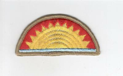 HTF WW 2 US Army 41st Infantry Division Merrowed Edge Patch Inv# C538