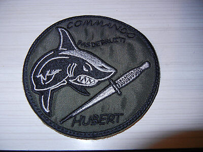 COS   FORCES  SPECIALES    COMMANDO    HUBERT    NAGEURS de COMBAT      patch BV