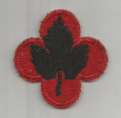 WW 2 US Army 43rd Infantry Division Patch Inv# G944