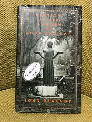 SIGNED Midnight in the Garden of Good and Evil by John Berendt (1994) HC