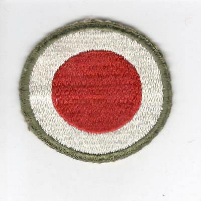 WW 2 US Army 37th Infantry Division OD Border Greenback Patch Inv# C571