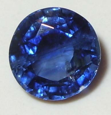 2.95ct Beautiful Color Nepal Blue Kyanite Round Cut 8mm SPECIAL