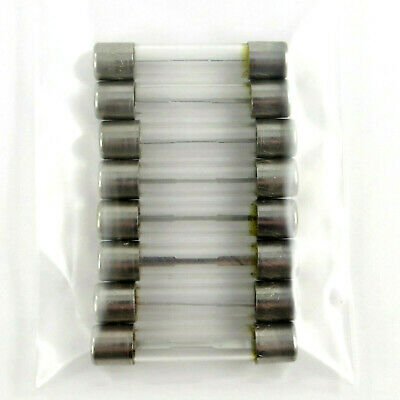 10X Chieftain AGC-25 Glass Tube Fuse Fast Acting 32 Volt 25 Amp