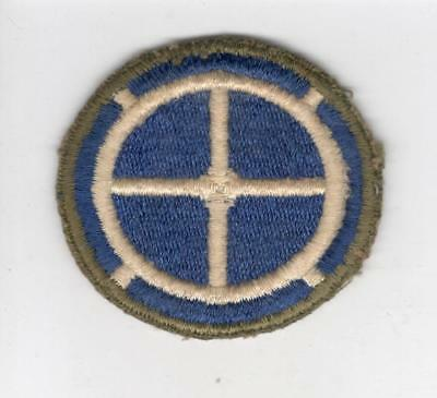 WW 2 US Army 35th Infantry Division Greenback Patch Inv# C588
