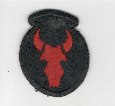 WW 2 US Army 34th Infantry Division Thin Skull Patch Inv# C593
