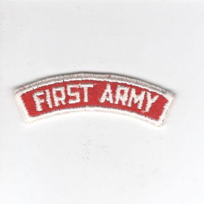 US Army Recruiting Service Command 1st Army Tab Inv# Z142