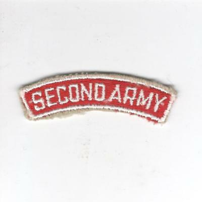 US Army Recruiting Service Command 2nd Army Tab Inv# Z145