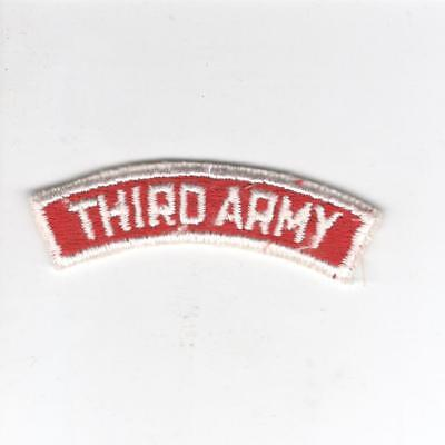 US Army Recruiting Service Command 3rd Army Tab Inv# Z146
