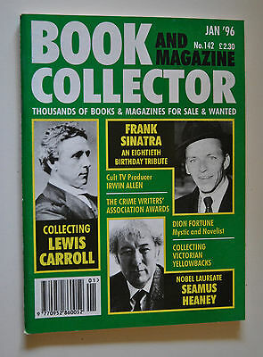 Book Collector # 142 Jan 1996 - Lewis Carroll - Seamus Heaney - Irwin Allen