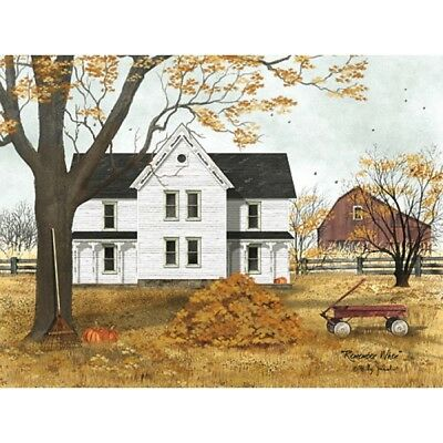 Billy Jacobs Remember When Fall Leaves  Art Print 24 x 18