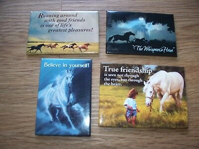 Leanin Tree Parker Vavra Peters Mcelroy Art Horse Magnet Lot Of 4