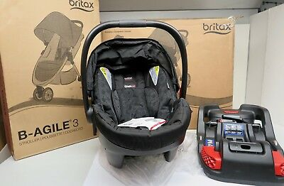 Britax 2017 S08365900 B-Agile 3/B-Safe 35 Travel system child/Infant Car Seat