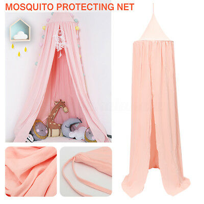 Baby Kids Canopy Dome Bed Netting Play Tents Bedding Curtain Cotton Mosquito Net