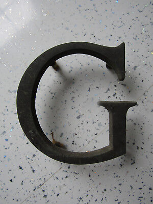 Superb QUAILTY Genuine ANTIQUE Shop Letters in BRONZE   4inch  Display etc     G