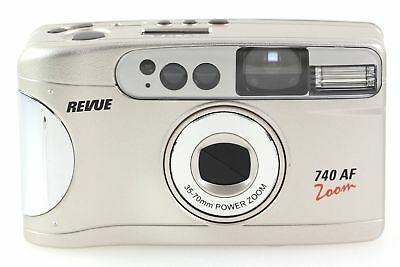 Revue 740 AF Zoom Kamera Kompaktkamera mit 35-70mm Power Zoom Optik - OVP