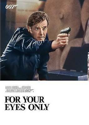 For Your Eyes Only DVD Moore Bond NEW FACTORY SEALED FREE SHIPPING TRACKING US