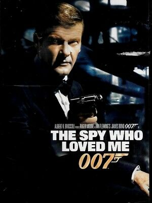 The Spy Who Loved Me 1977 Roger Moore BRAND NEW SEALED DVD FREE SHIP TRACK US