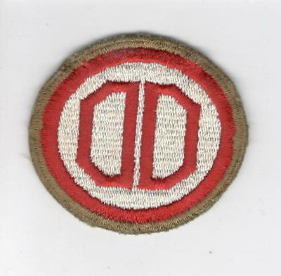 WW 2 US Army 31st Infantry Division OD Border Greenback Patch Inv# C629