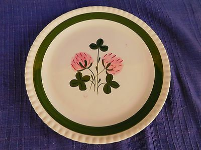 Blue Ridge Southern Sweet Clover LUNCHEON PLATE *have more items* pink & green