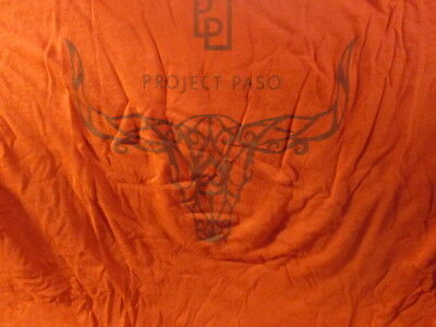 Super Thin & Comfy PROJECT PASO Vineyards Logo Red T Shirt XL Paso Robles WINE