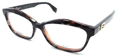 8c699465ae FENDI EYEGLASSES FF 0093 D5T Frame Authentic New 54mm Gray Spotted ...