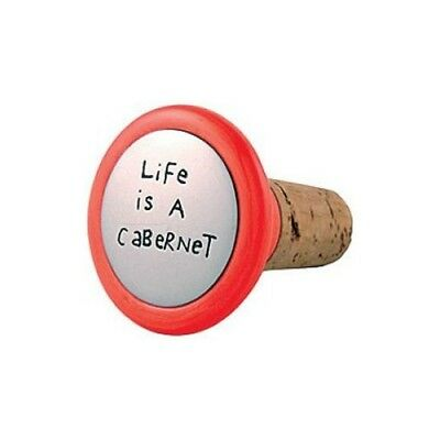 Our Name is Mud LIFE IS A CABERNET Cork NIB Retired Only One Left Red Wine